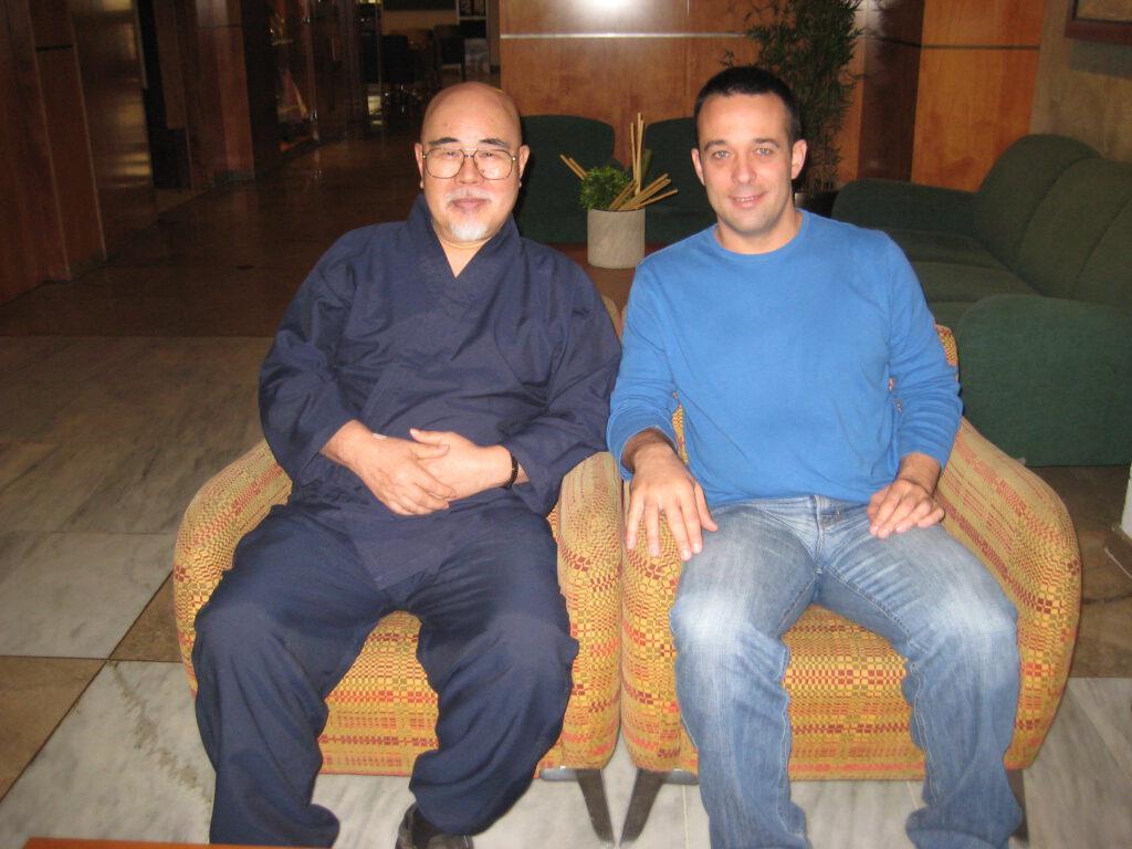 yakuten y Victor Fernandez , maestría de reiki