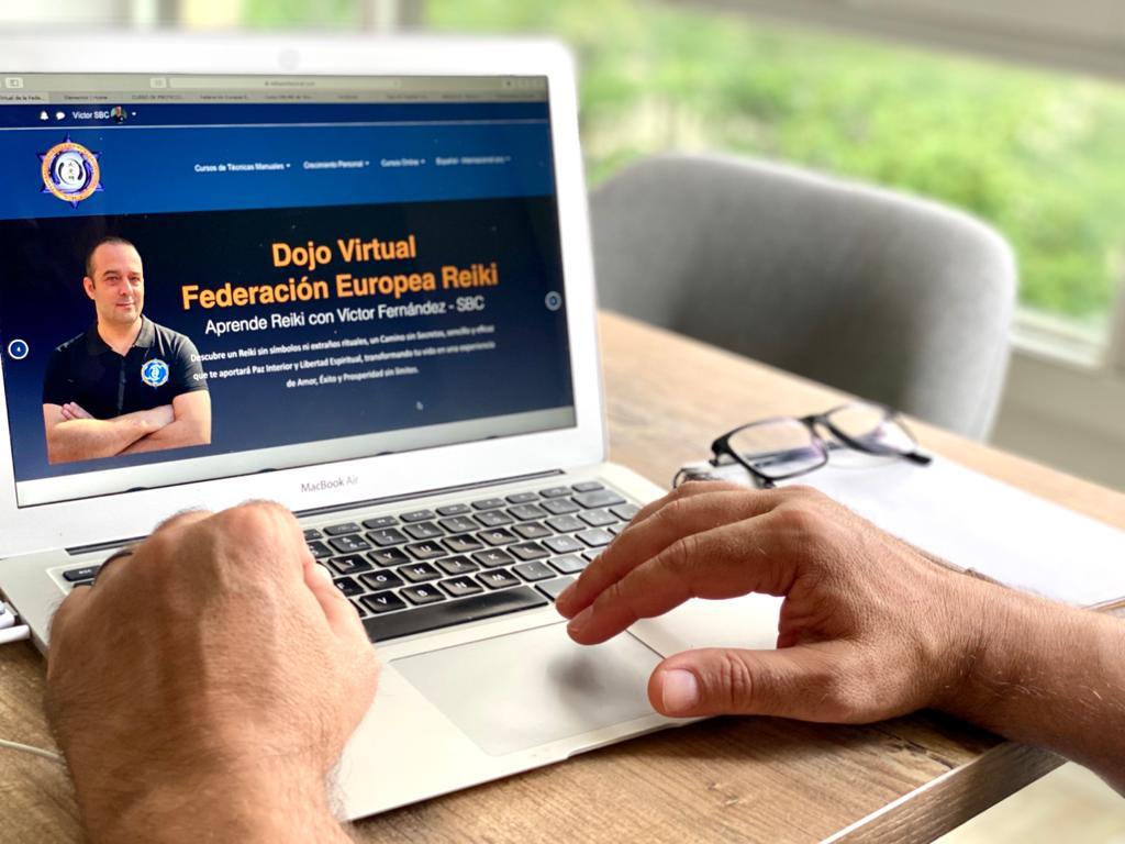 Imagen web cursos de reiki federación europea de Reiki profesional
